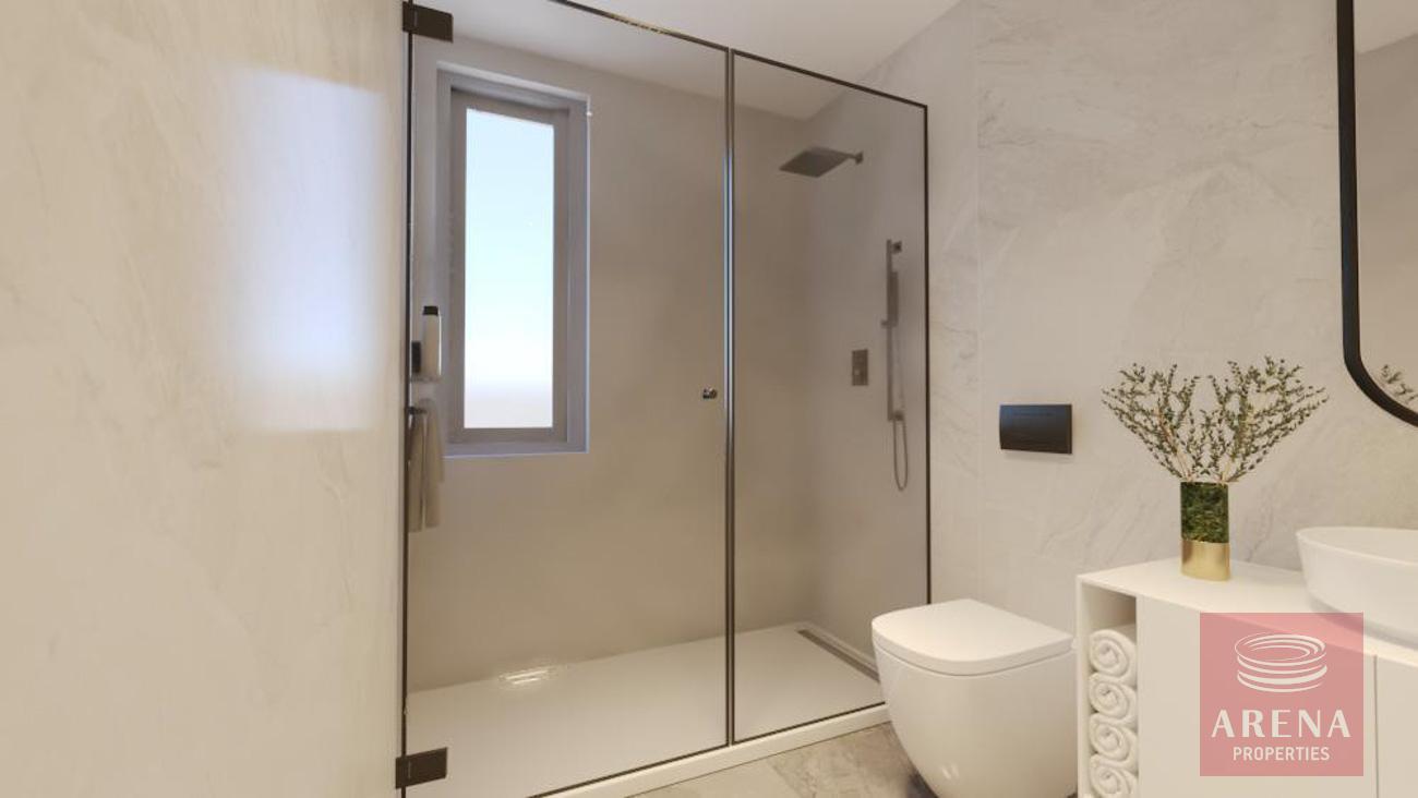 1 bed apt in drosia - bathroom