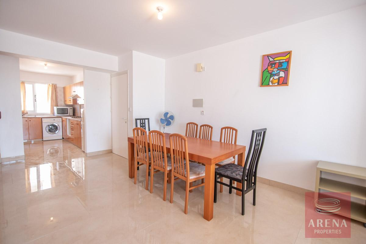 3 Bed Apt in Kapparis for sale - dining area
