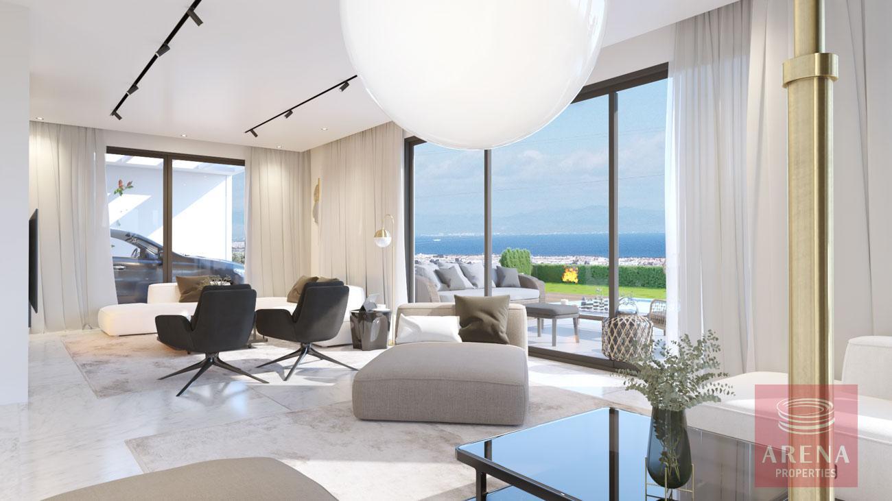 4-5 Bed villa in Protaras to buy - living area