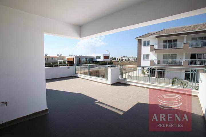 New Apartment in Paralimni for sale - veranda