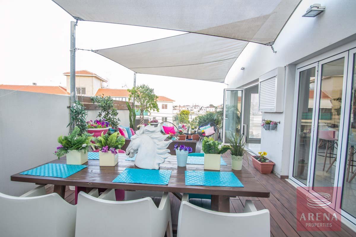 Modern Apartment in Paralimni - veranda