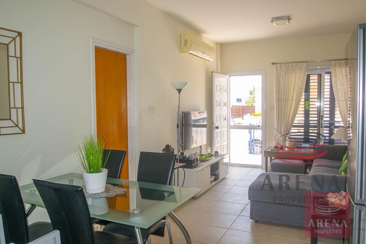 2 Bed Villa in Pernera - dining area