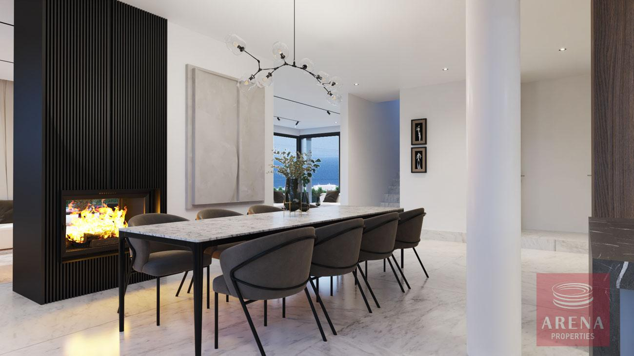 4-5 Bed villa in Protaras for sale - dining area