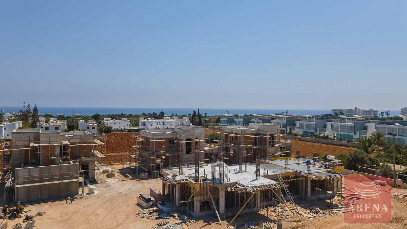 New villas in Protaras - real photos