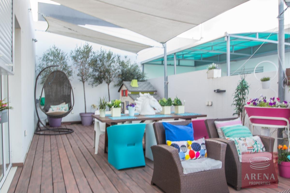 Modern Apartment in Paralimni to buy - veranda