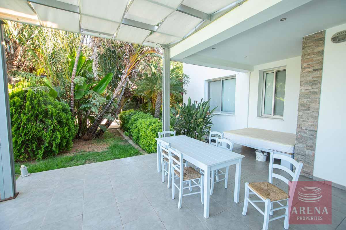8 Bed Villa in Protaras - veranda