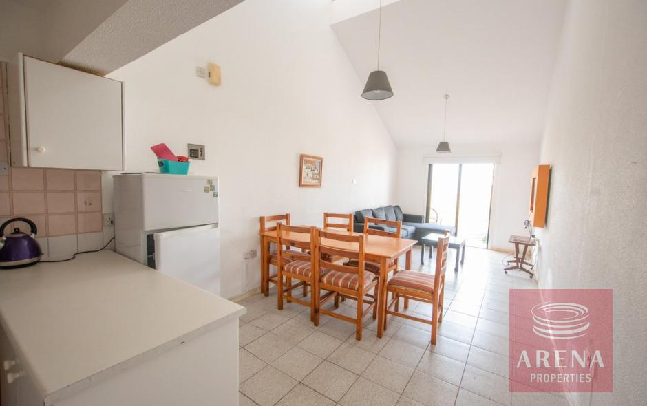 2 Bed Apartment with Deeds in Kapparis - dining area