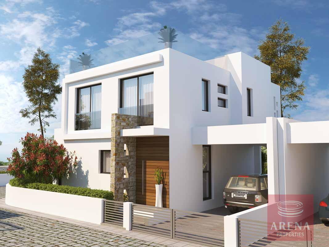 New villas in Protaras for sale