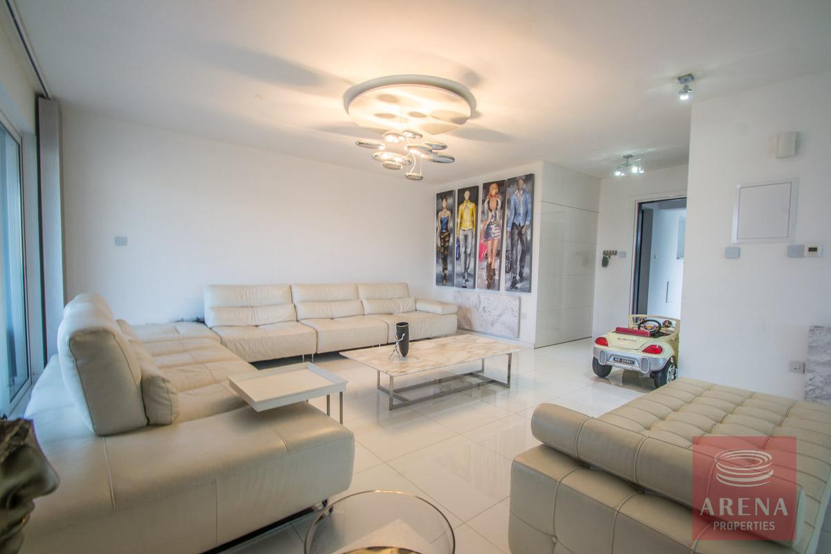 Modern Apartment in Paralimni - sitting area