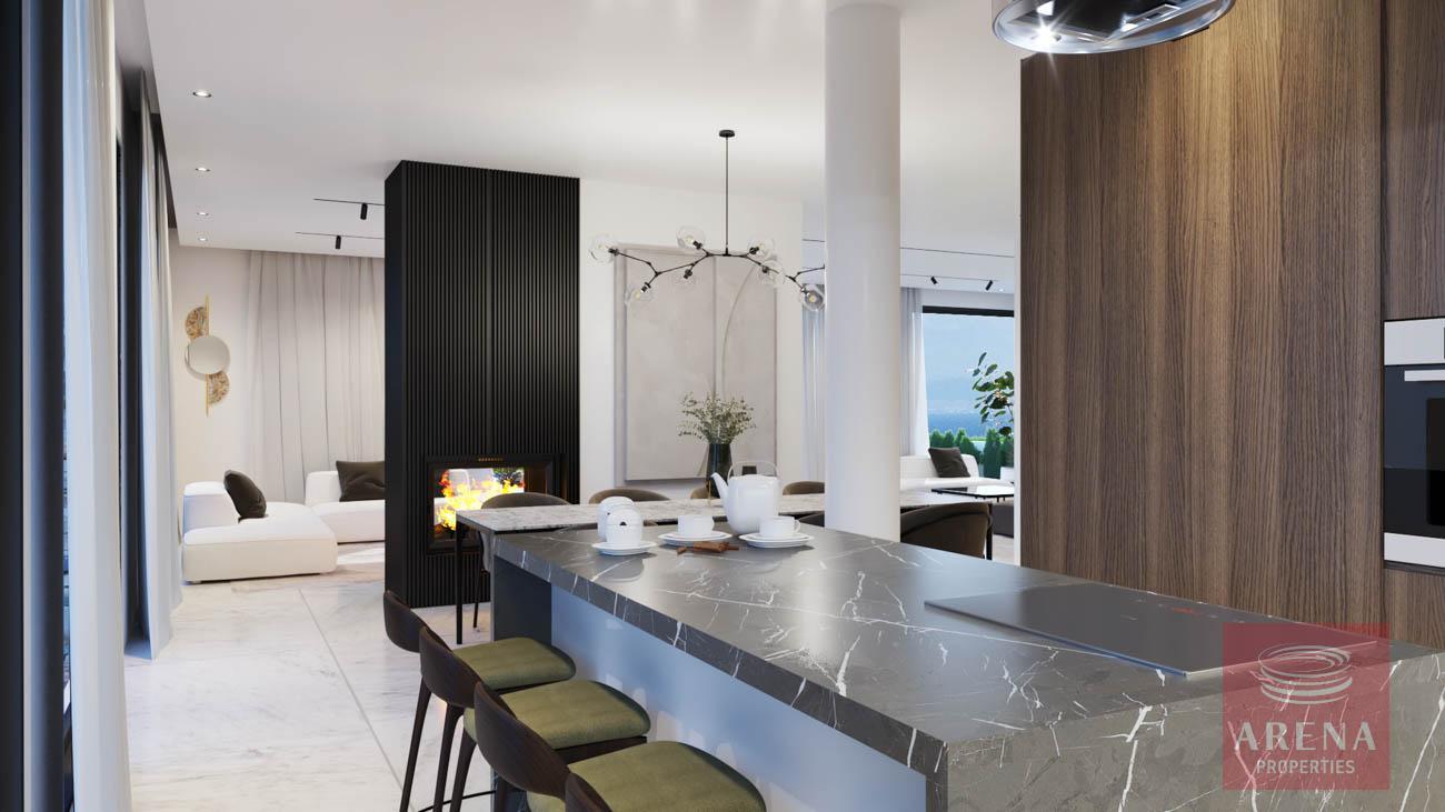 villa in protaras fo sale - kitchen