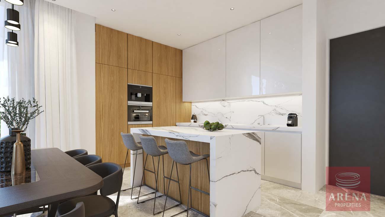 villa in ayia triada - kitchen
