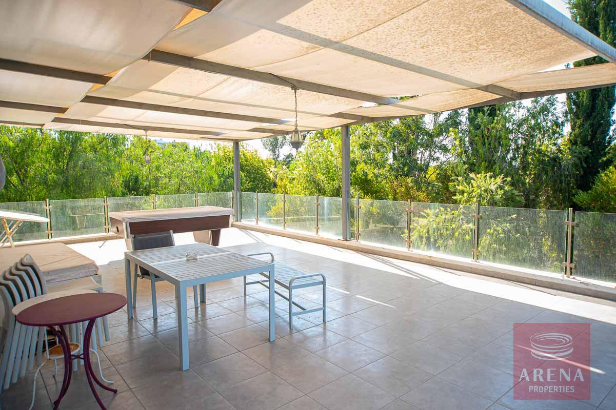 8 Bed Villa in Protaras - balcony