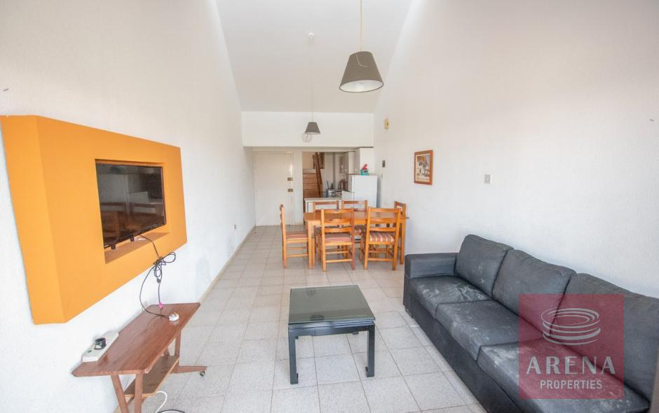 2 Bed Apartment with Deeds in Kapparis - living area