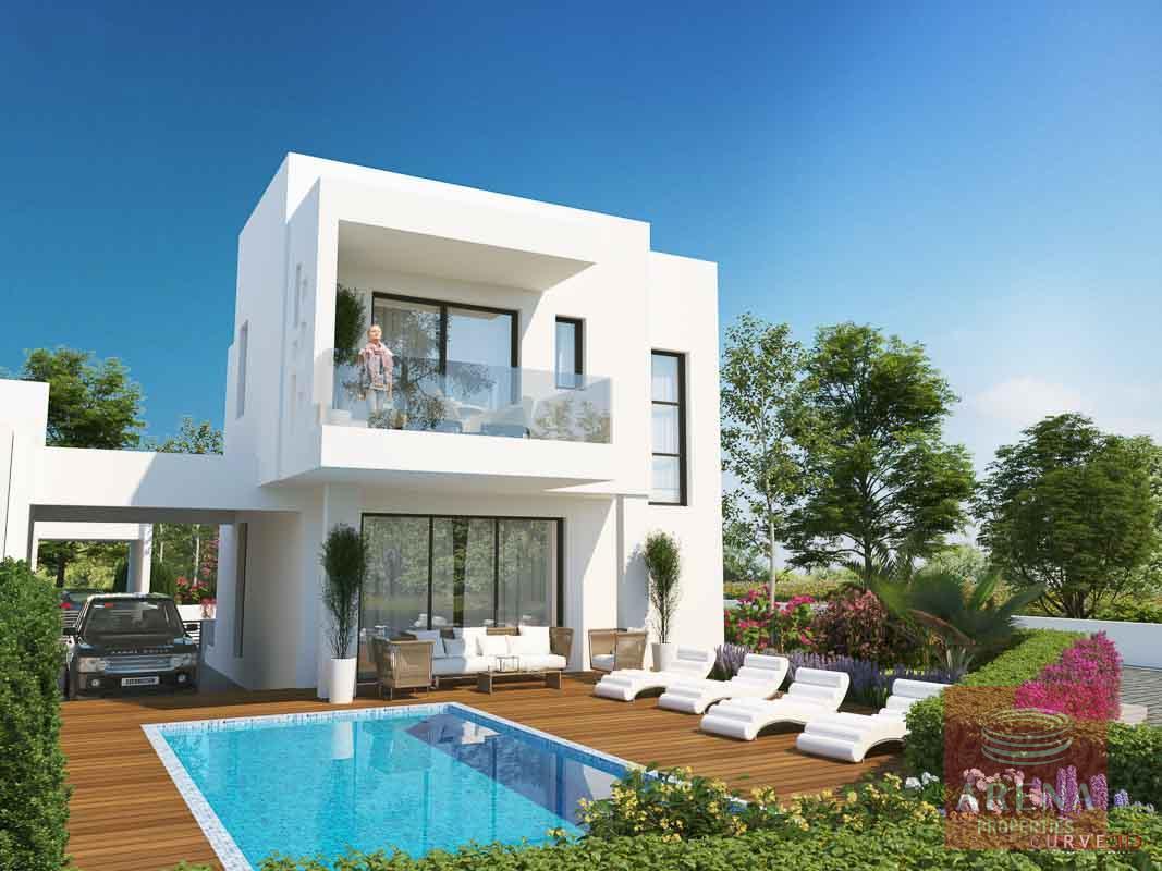 New villas in Protaras to buy
