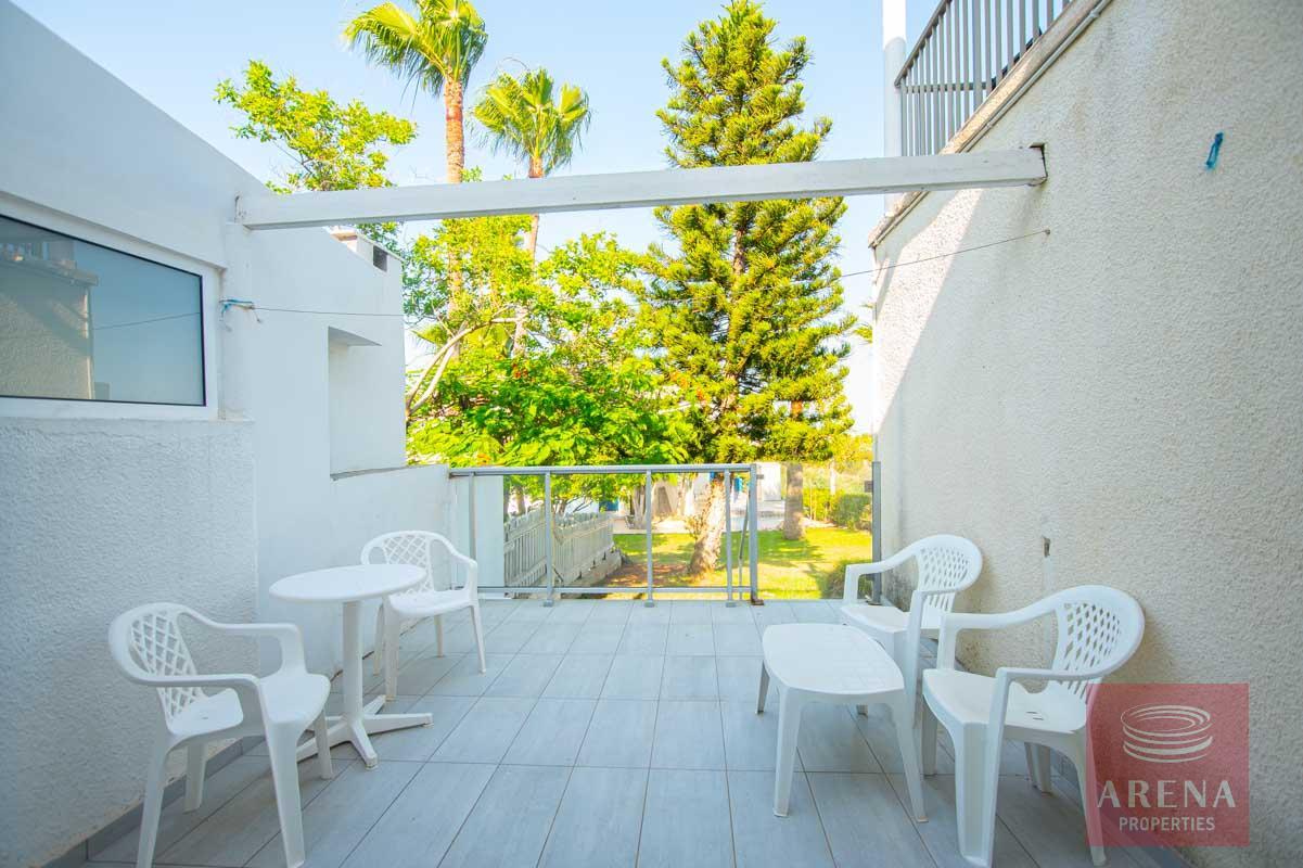 Studio for sale in Profitis Elias - veranda