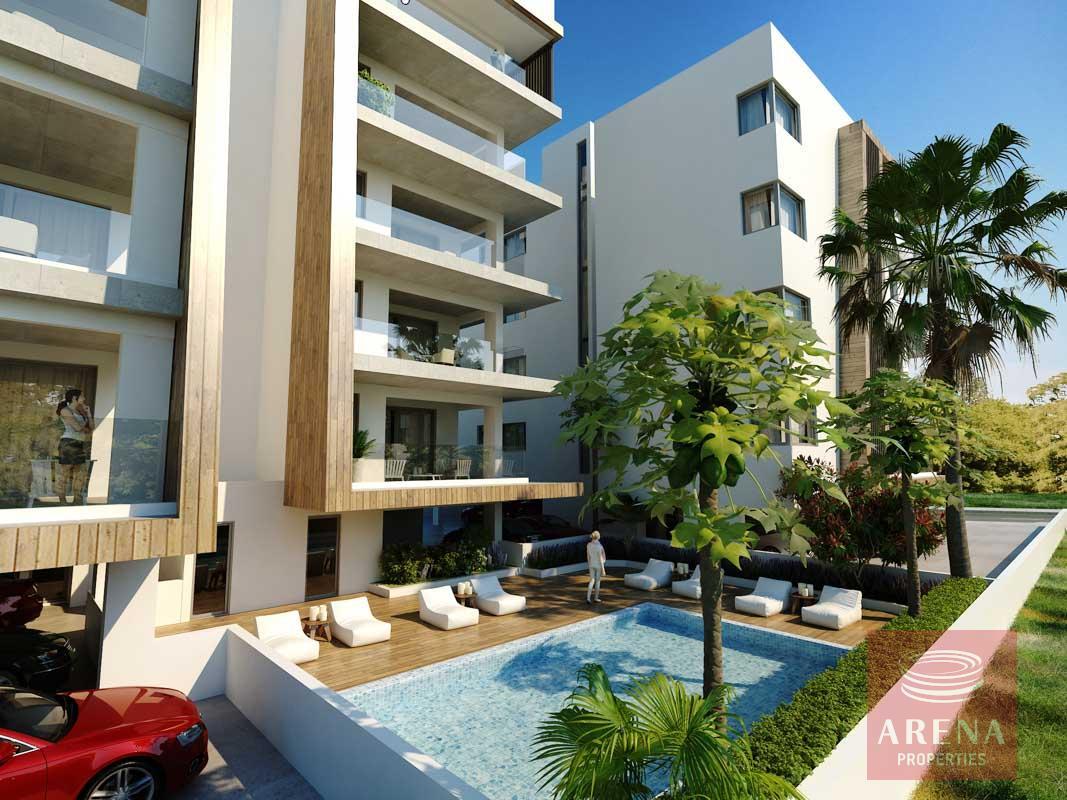 2 Bed Penthouse in Larnaca - pool