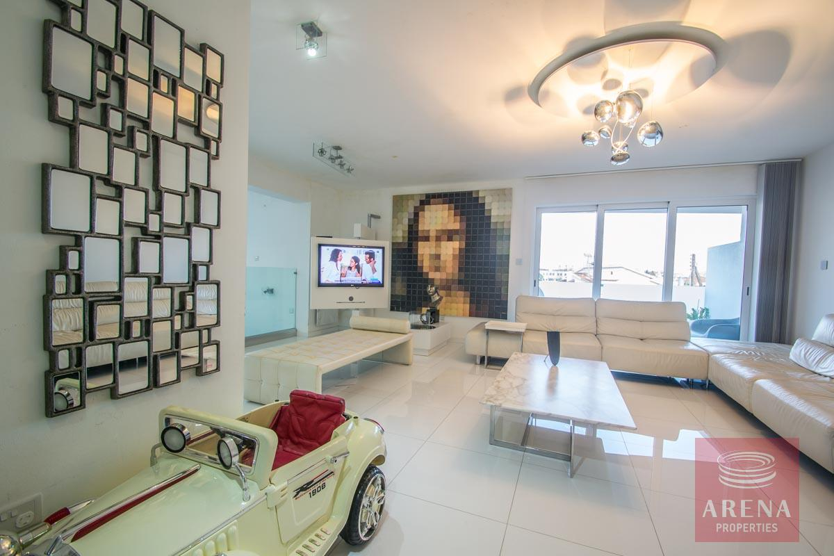 Modern Apartment in Paralimni - living area