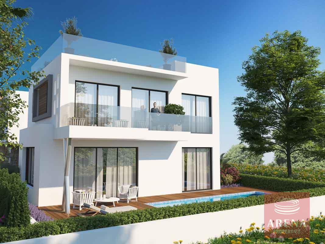 4 bed villa in Protaras