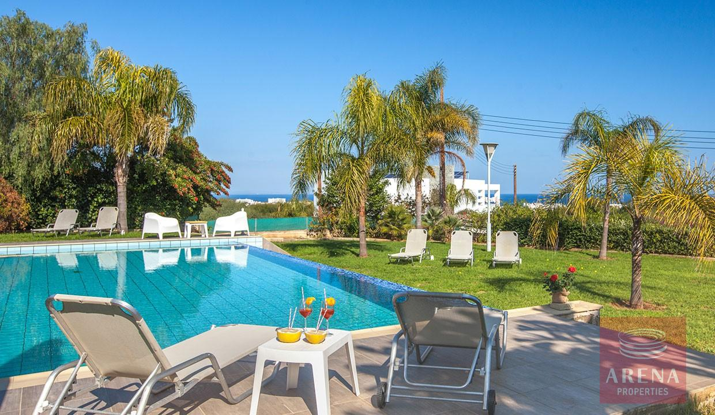 8 Bed Villa in Protaras - swimming pool