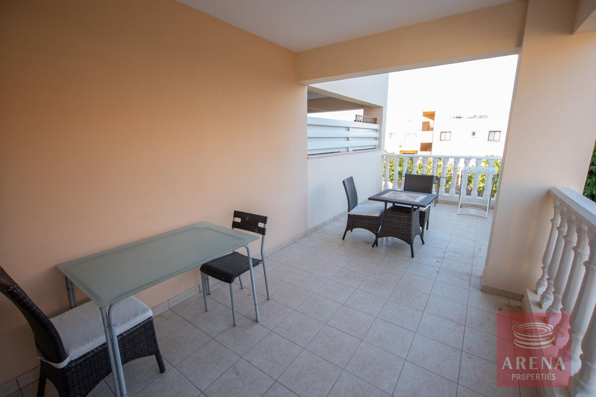 Apartment for rent in Kapparis - balcony