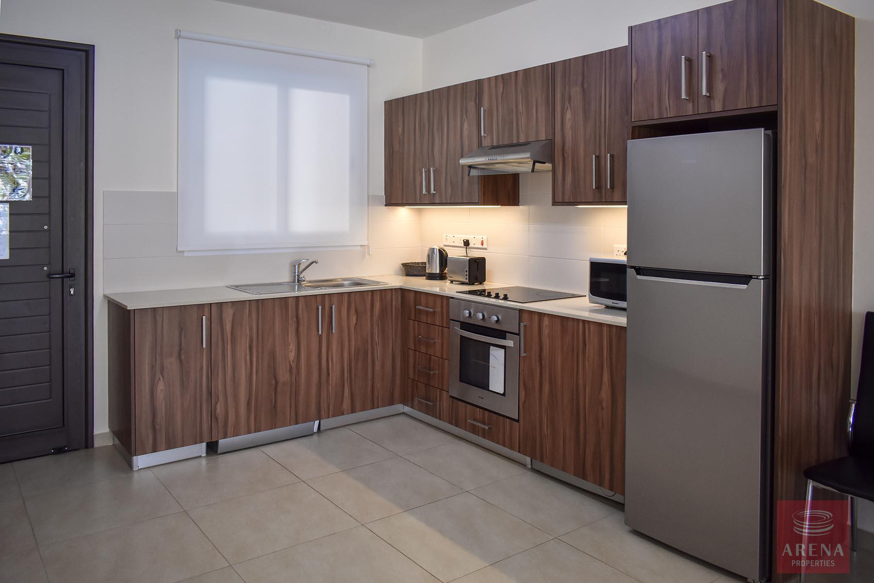 Ground Floor Apartment in Kapparis- kitchen
