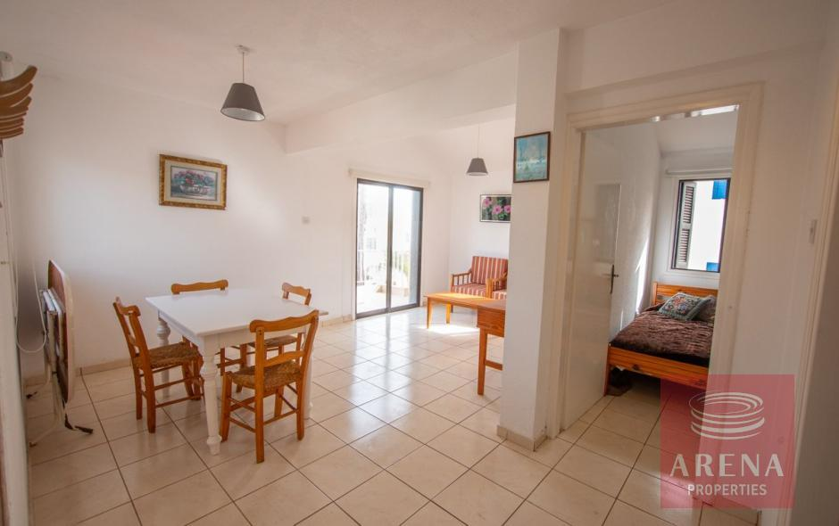 1 bed apt for sale in kapparis - living area