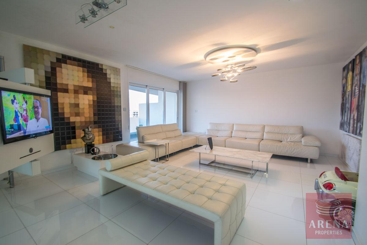 Modern Apartment in Paralimni for sale - sitting area