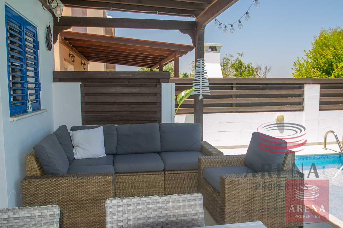 2 Bed Villa in Pernera - veranda