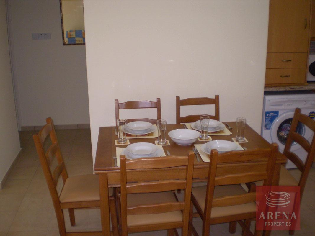 Flat in Paralimni - dining area