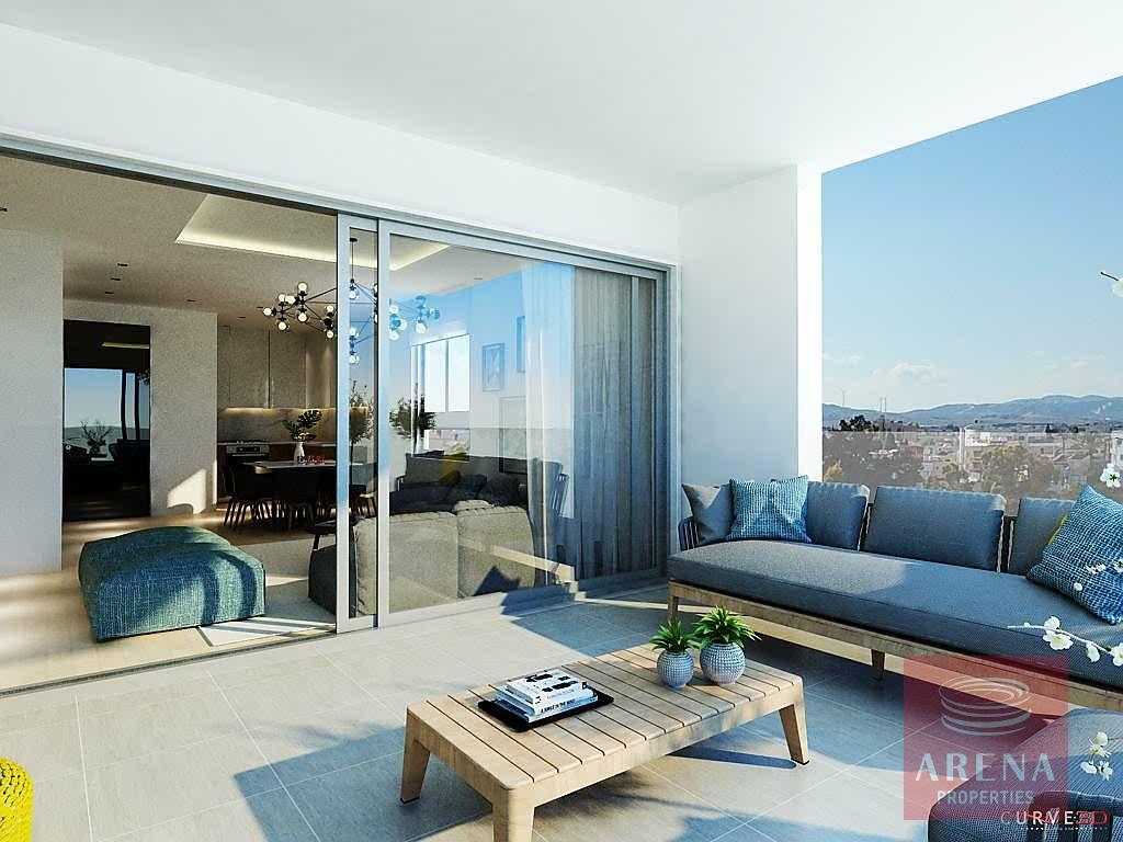 Apartments for sale in Larnaca - veranda