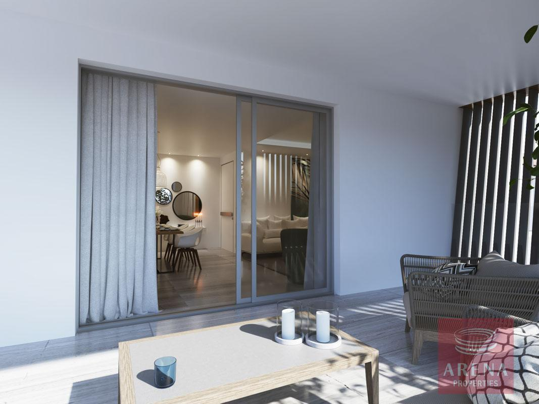 2 Bed Penthouse in Larnaca - balcony