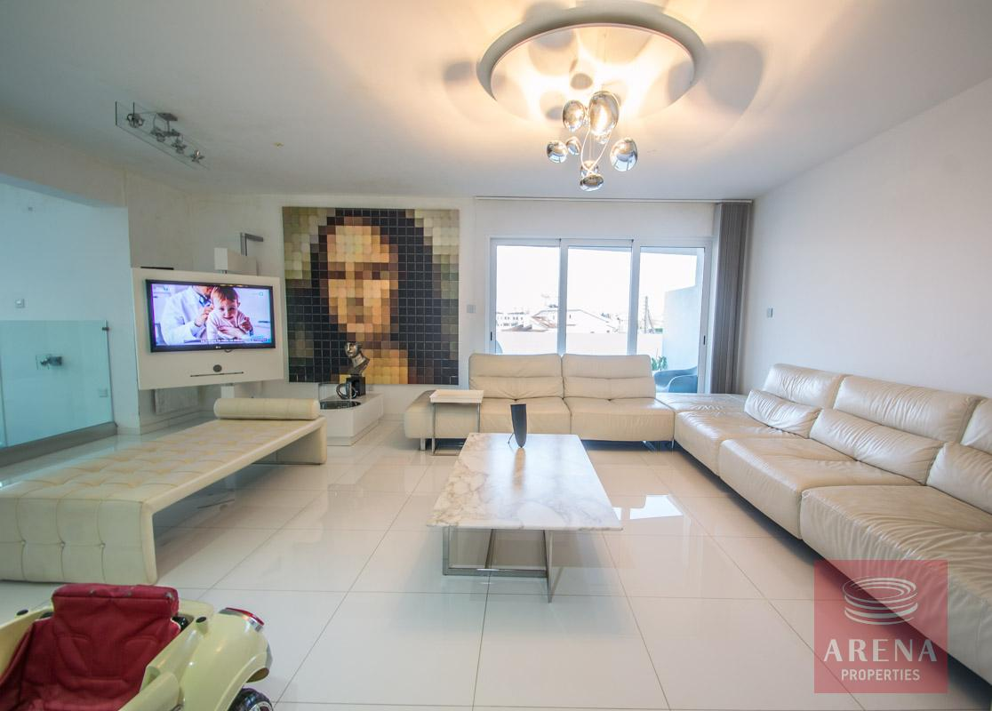 Modern Apartment in Paralimni to buy - living area