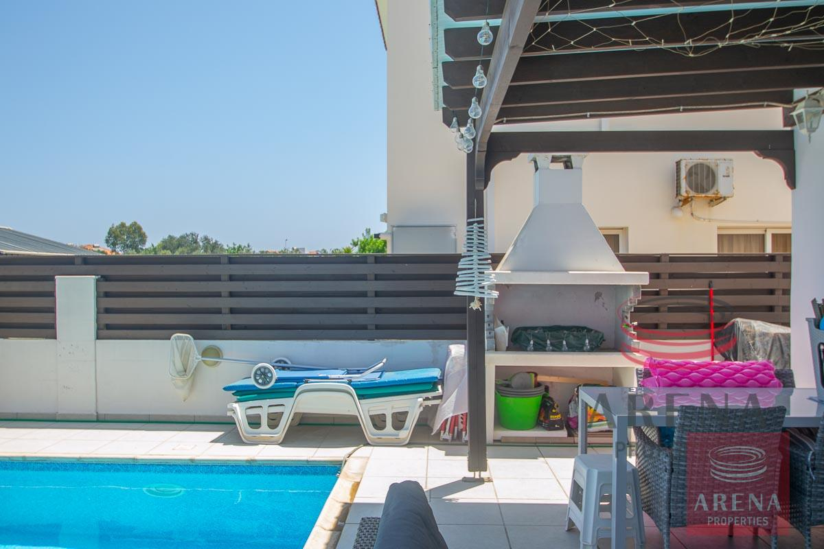 2 Bed Villa in Pernera - BBQ Area