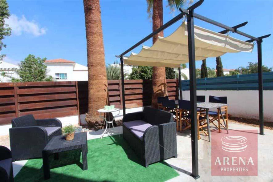 4 bed villa for rent in Ayia Triada - outside area