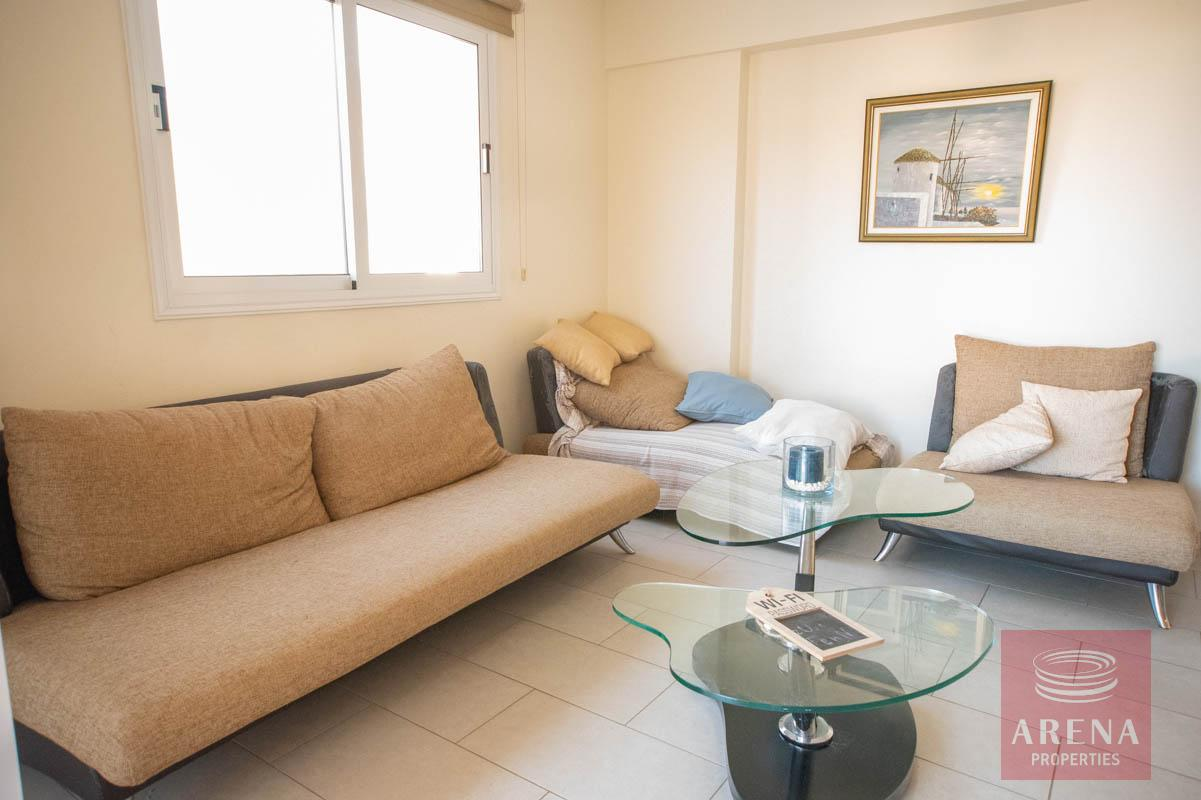 Apartment for rent in Kapparis - sitting area