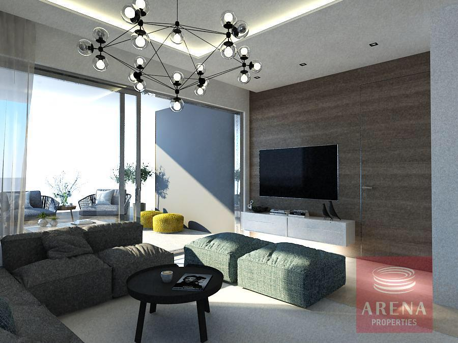 Apartments for sale in Larnaca - living area