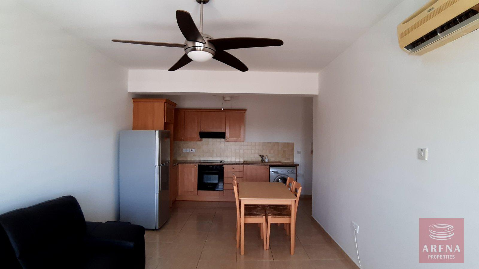 2 Bed Apt for rent in Paralimni - dining area