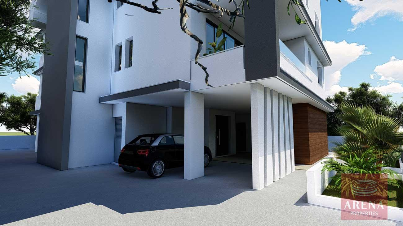 New apartment in Aradippou - covered parking