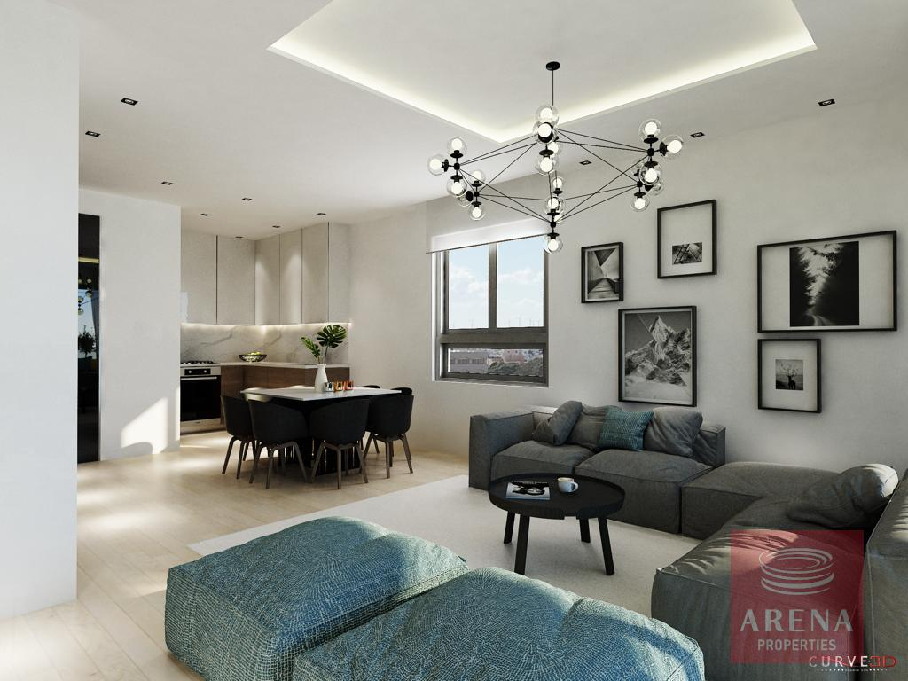 Larnaca Property - Living Area