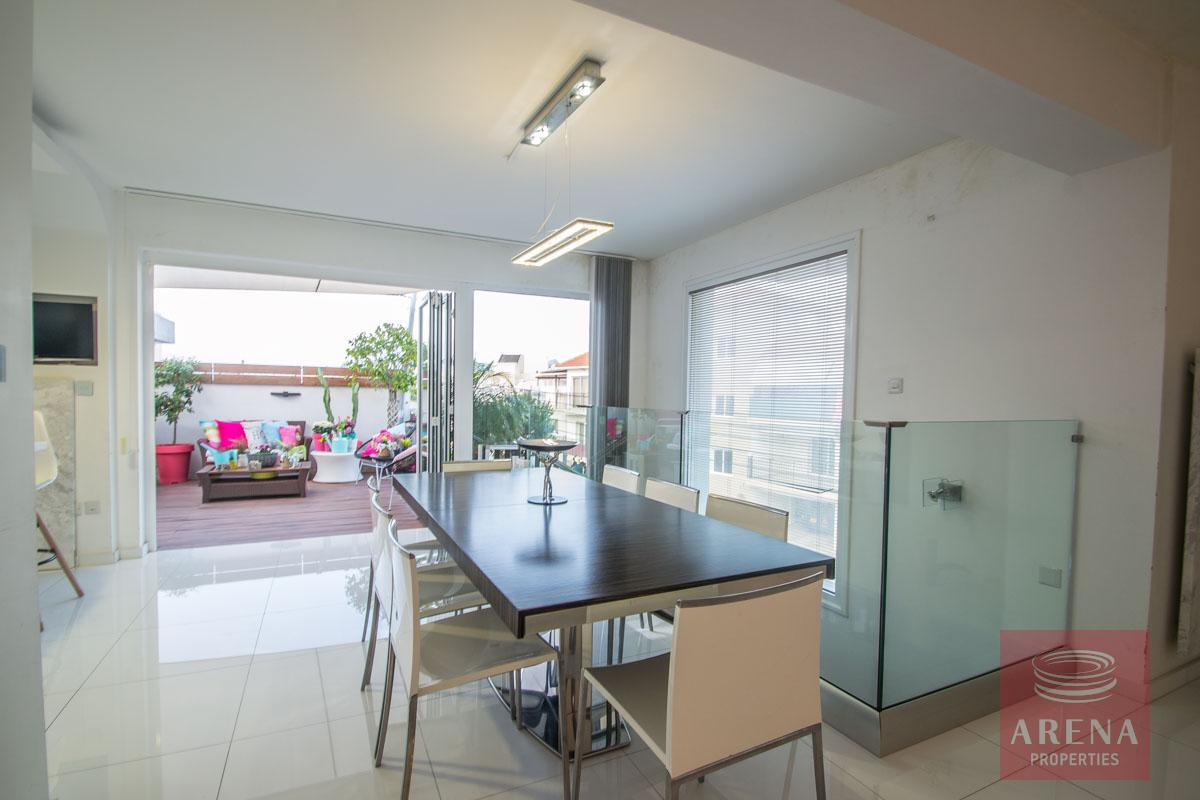 Modern Apartment in Paralimni - dining area