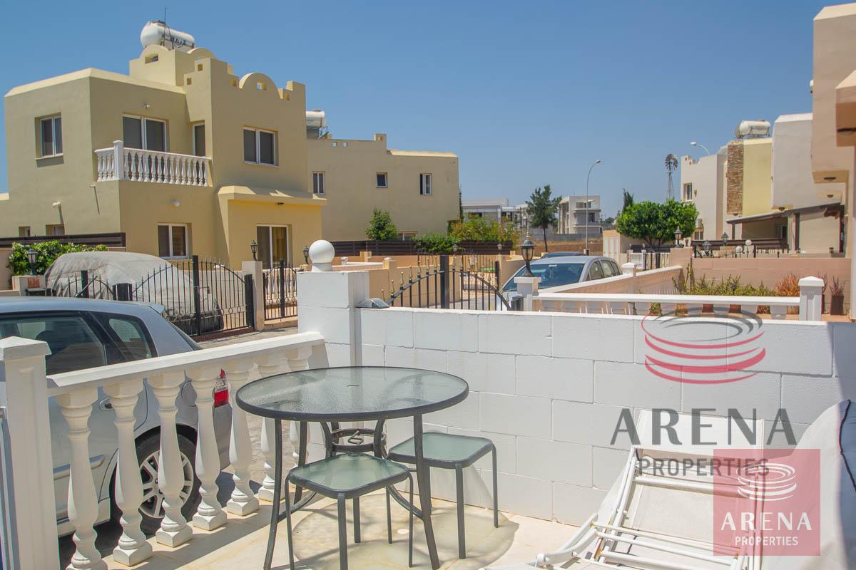 2 Bed Villa in Pernera - front veranda