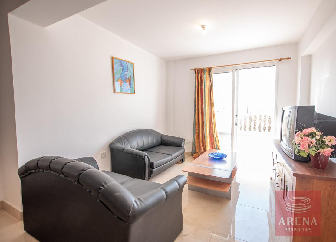 3 Bed Apt in Kapparis for sale - sitting area