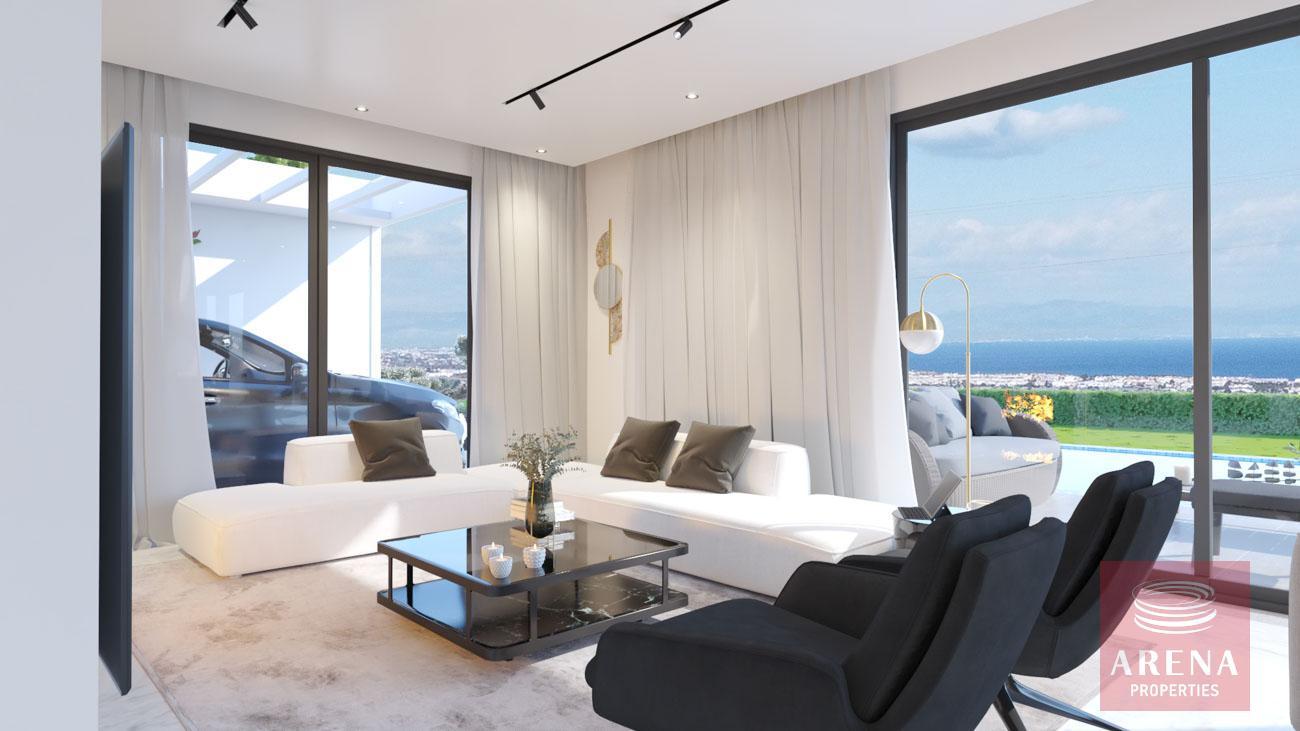 4-5 Bed villa in Protaras - sitting area