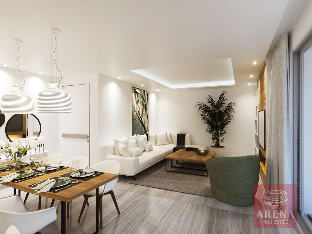 2 Bed Penthouse in Larnaca to buy - sitting area