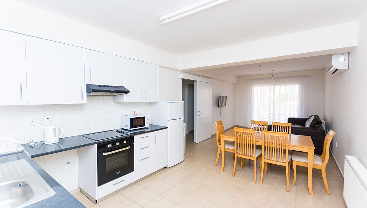 Flat in Paralimni to buy - living area