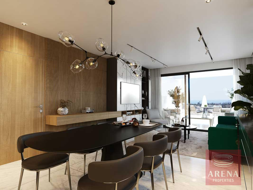 3 bed apt in sotira - dining area