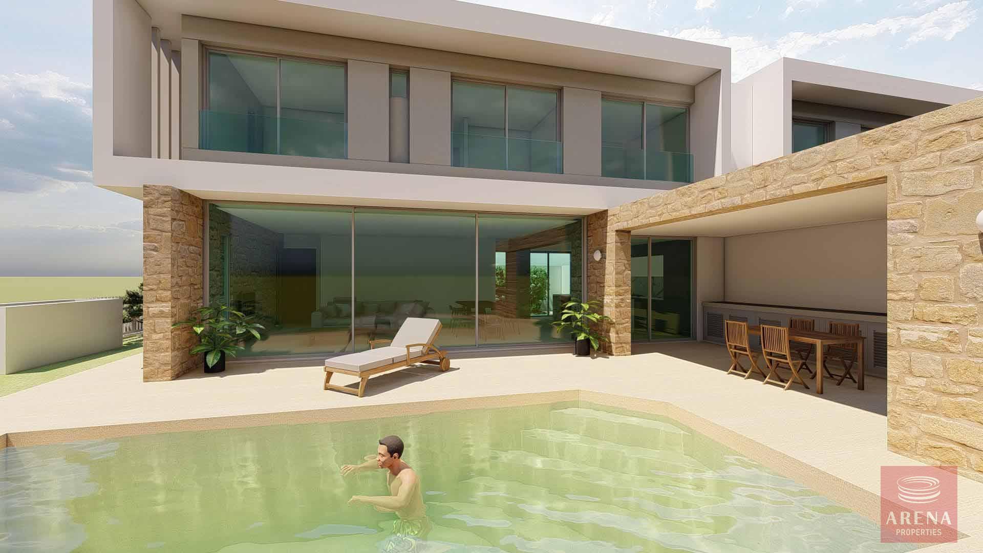 3 bed villa in oroklini
