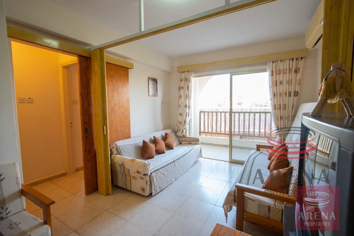 1st floor apt in Kapparis to buy - sitting area