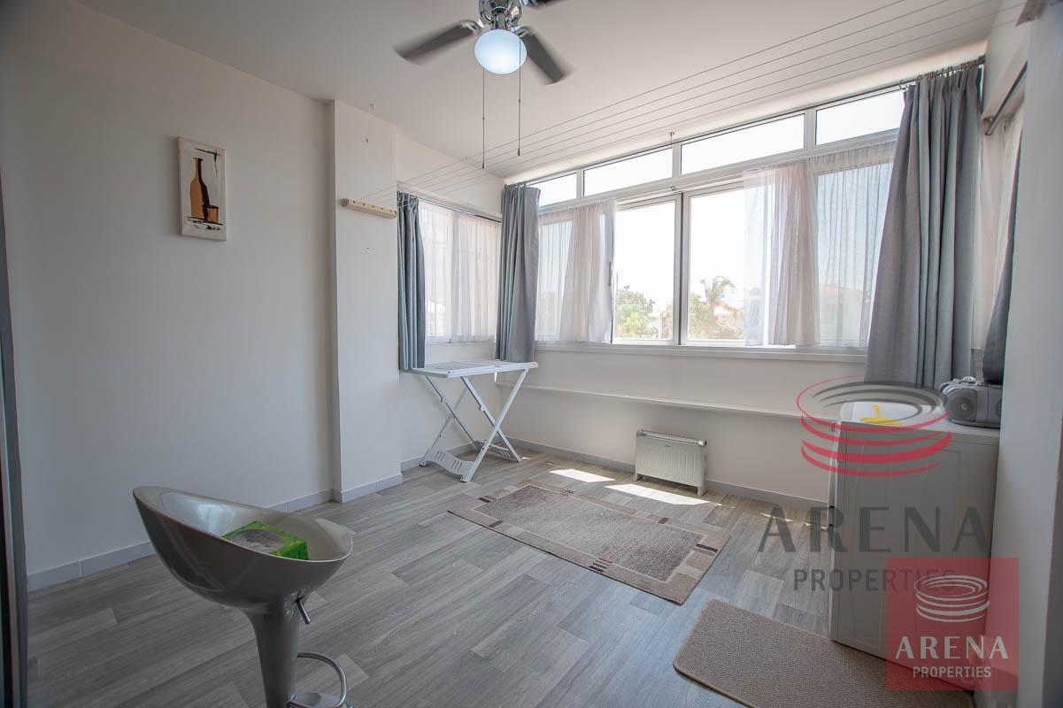 2 bed apt in Derynia to buy - veranda