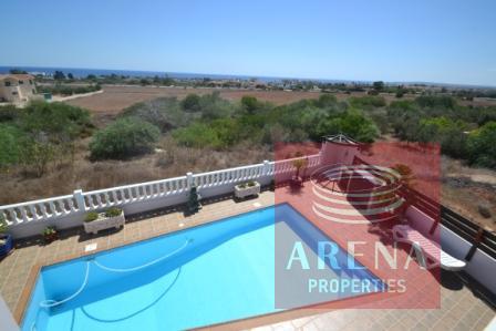Ayia Napa property - pool view